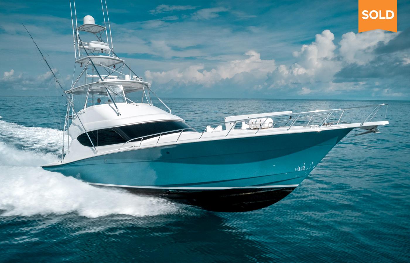 60 Hatteras Sportfish Yacht Sold By Russ Schafer