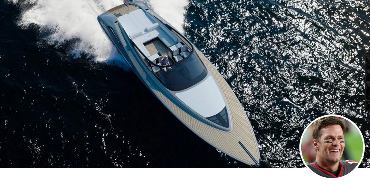 Tom Brady's yacht Viva a Vida