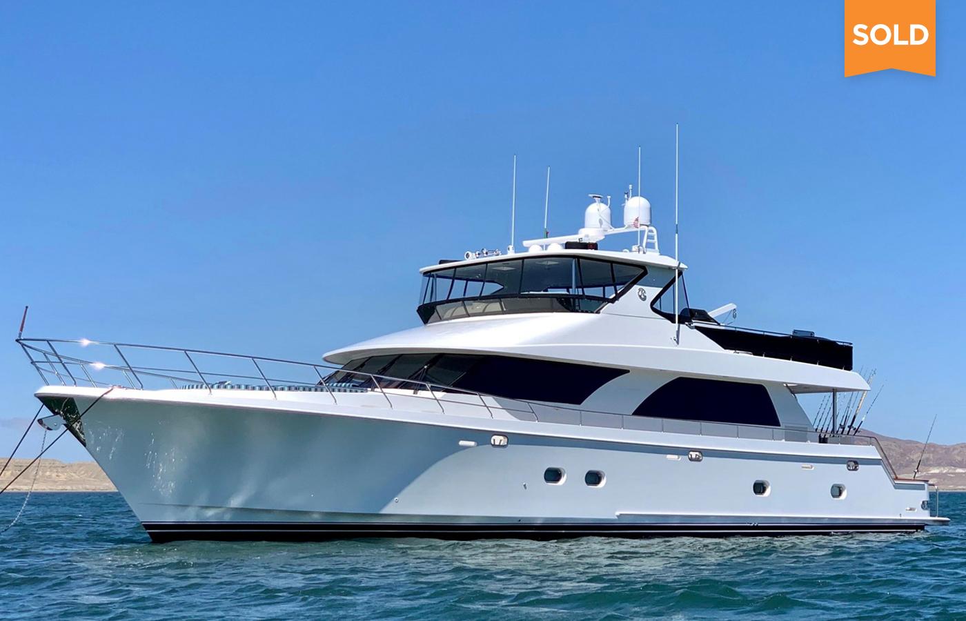 80 Ocean Alexander Motor Yacht Sold By Mike Burke