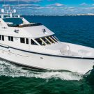 84' burger motoryacht sold by Jerry Gilpin of Denison Yachting