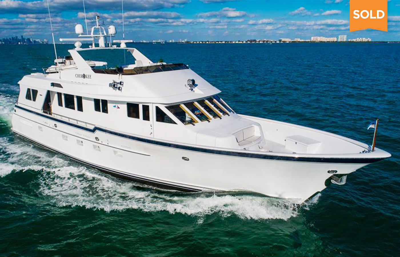 84 Burger Flybridge Motor Yacht Sold By Jerry Gilpin