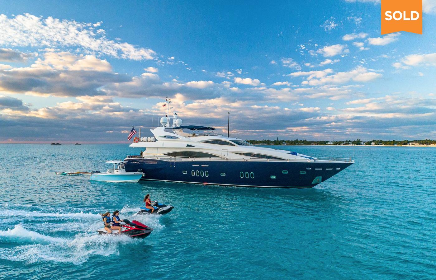 105 Sunseeker Motor Yacht Sold By Matthew Stropes