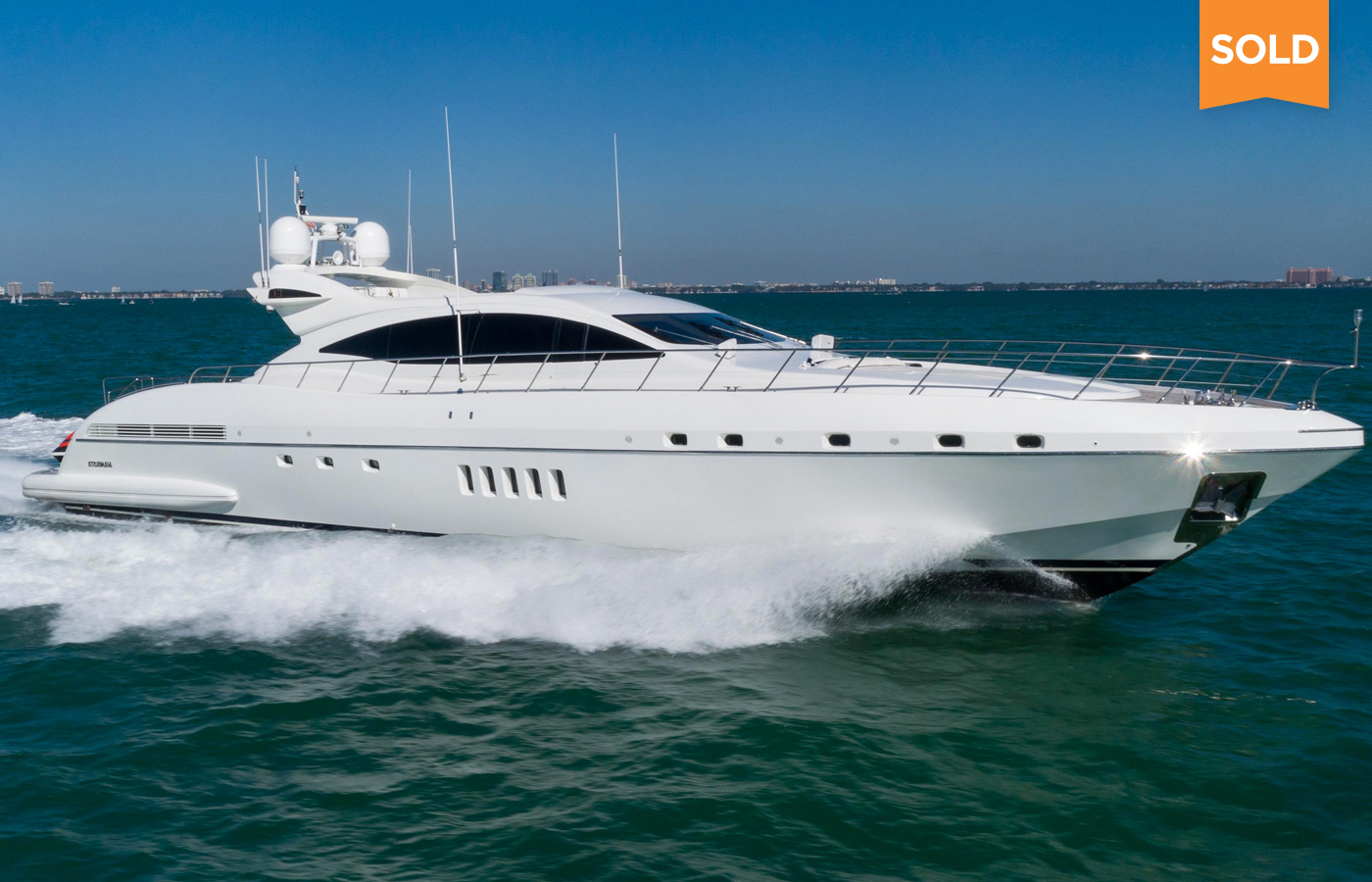 KAMPAI 92' Mangusta Sold By Kyle Dunn and Chris Daves