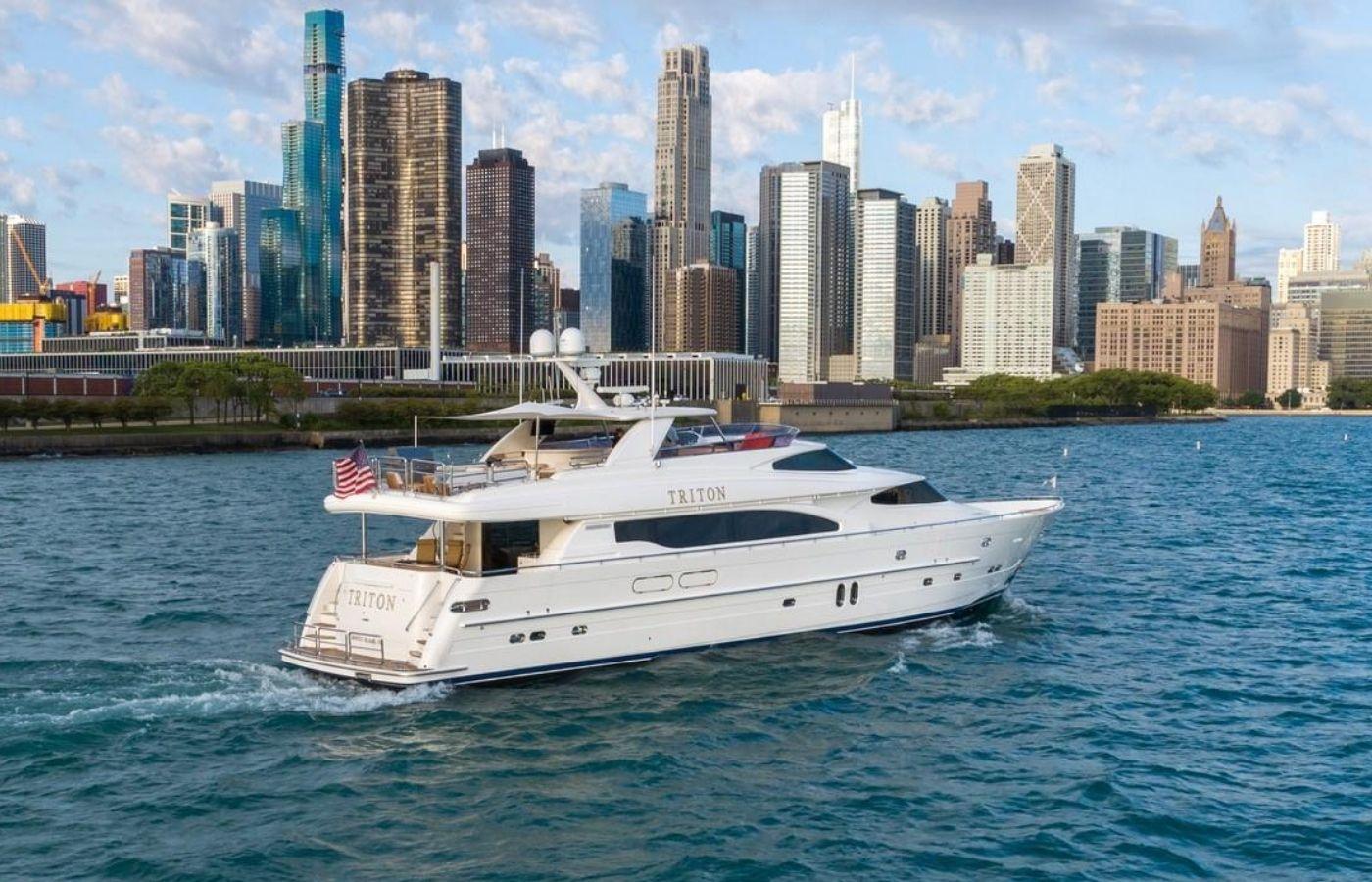 95 Horizon Motor Yacht Sold By David Johnson