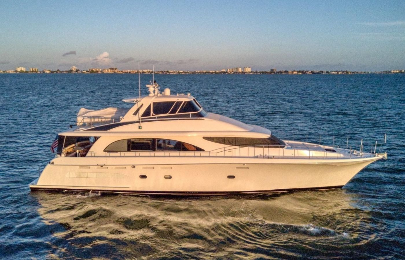 81 Cheoy Lee Motor Yacht Sold By Gregg Somerville