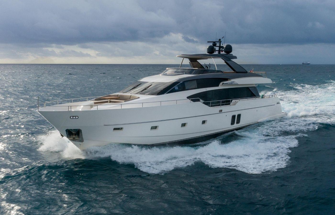 86 Sanlorenzo Motor Yacht Sold By Alex Clarke