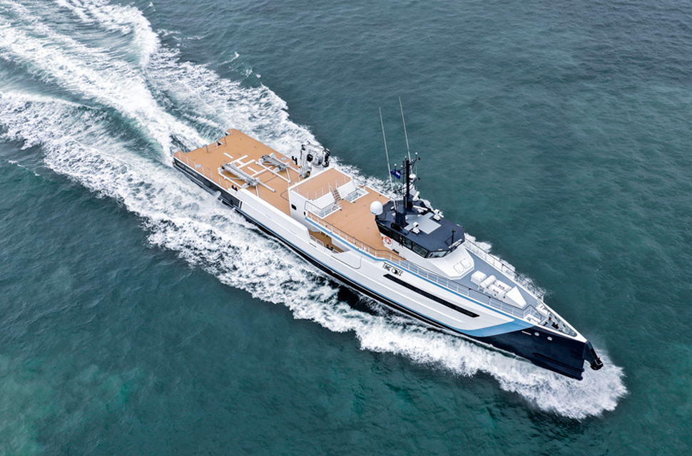 182' Support Yacht Damen Yachting   TIME OFF - photo 1
