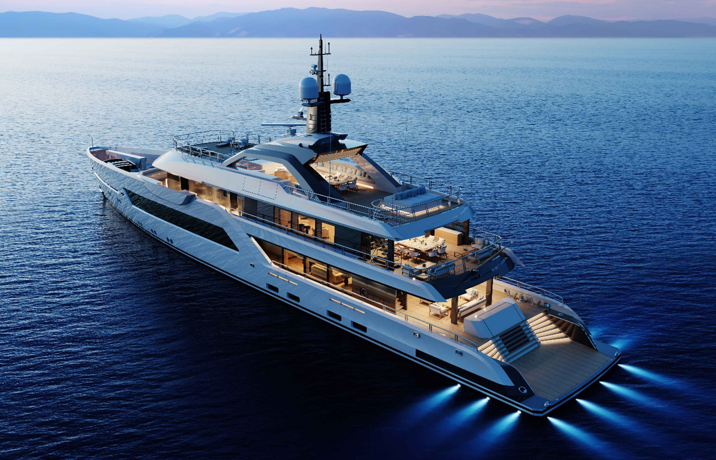 60-Meter Amels Hull #4 Sold By Denison [New Construction Yacht]