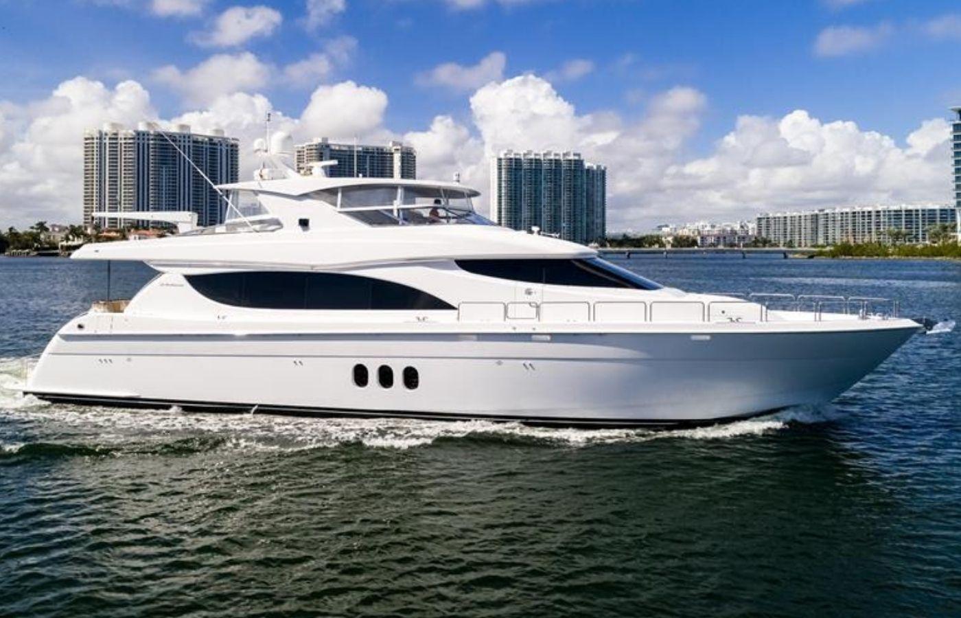 80 Hatteras Motor Yacht Sold By David Johnson