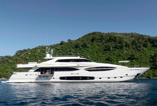 124' Ferretti Yachts