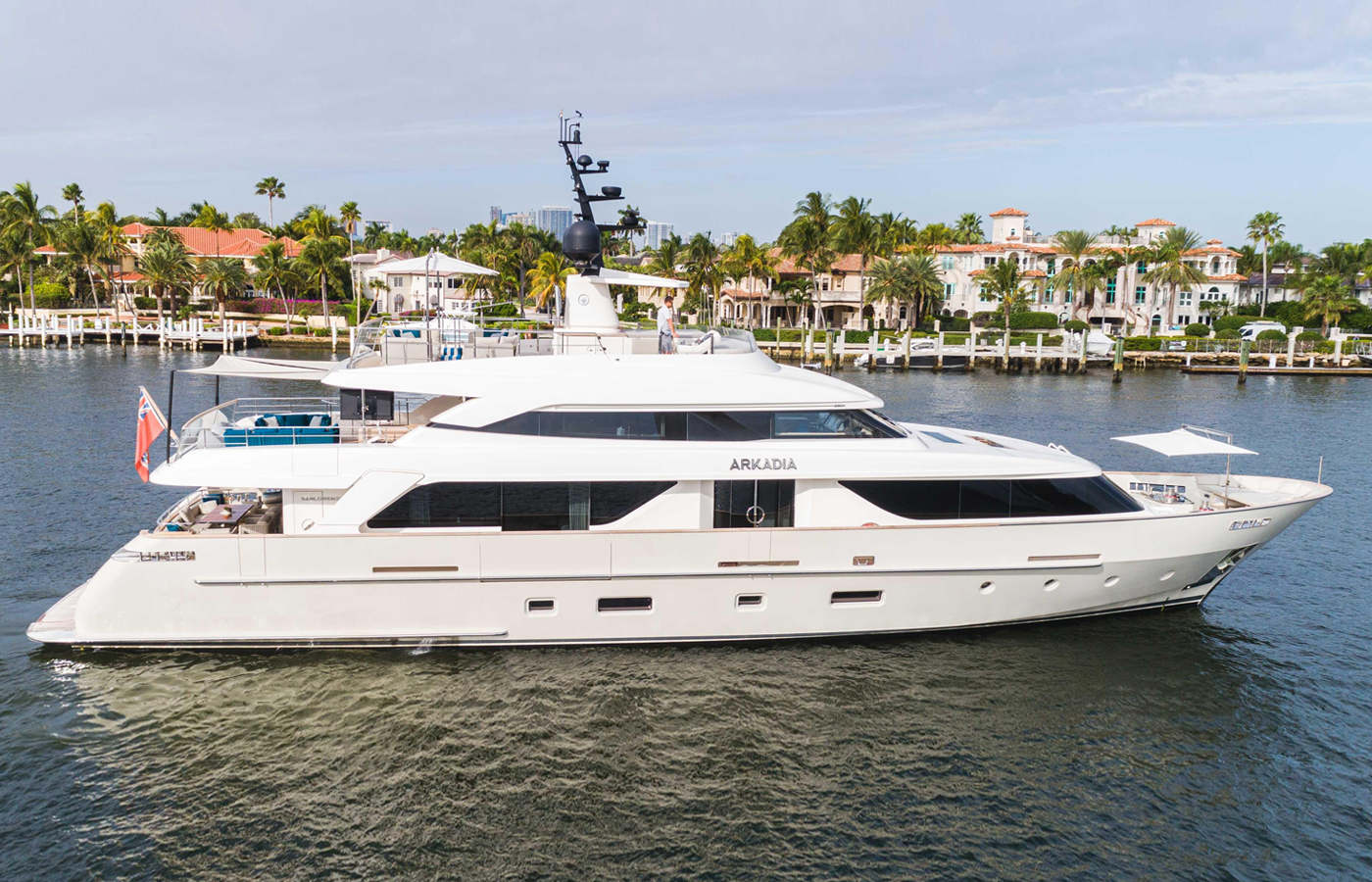 112′ Sanlorenzo 2018 Superyacht ARKADIA Sold By David Johnson