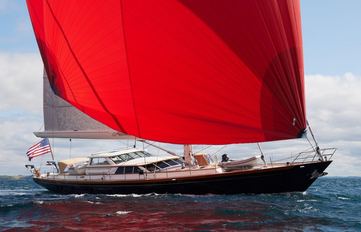 108 Alloy Sailing Yacht Sold By Tom Cleator